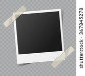 vector blank retro photo frame... | Shutterstock .eps vector #367845278