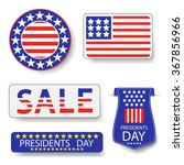 presidents day icons | Shutterstock . vector #367856966