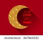 elegant valentine's day card...   Shutterstock .eps vector #367863332