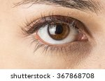 close up image of female brown... | Shutterstock . vector #367868708