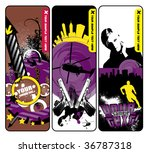 3 stylish banners | Shutterstock .eps vector #36787318