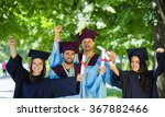 graduates | Shutterstock . vector #367882466