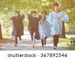 multiracial graduates | Shutterstock . vector #367892546