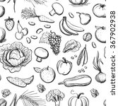 seamless pattern healthy eating | Shutterstock .eps vector #367902938