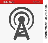 radio tower icon. professional  ...   Shutterstock .eps vector #367916786