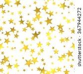 gold glittering foil seamless... | Shutterstock .eps vector #367944272