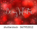 abstract smooth blur red... | Shutterstock .eps vector #367952012