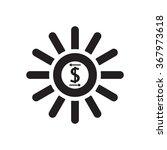 business profits icon  vector ... | Shutterstock .eps vector #367973618