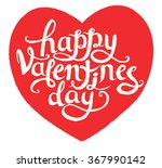 happy valentine's day... | Shutterstock .eps vector #367990142