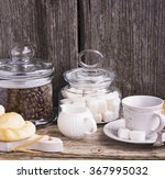 morning still life in the... | Shutterstock . vector #367995032