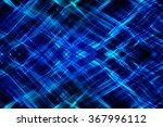 abstract blue fractal...   Shutterstock . vector #367996112