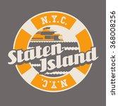 vintage t shirt sticker emblem... | Shutterstock .eps vector #368008256