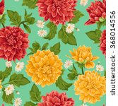 Seamless Wallpaper Pattern Wit...