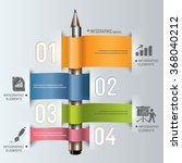 business finance education info ... | Shutterstock .eps vector #368040212