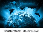 best internet concept of global ... | Shutterstock . vector #368043662