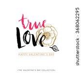 True Love. Valentines Day...