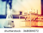 glass laboratory chemical test...