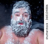 crazy russian man ran out of... | Shutterstock . vector #368104886