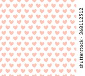 Background With Hearts Peach...