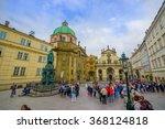 prague  czech republic   13... | Shutterstock . vector #368124818