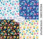 set of colorful abstract... | Shutterstock .eps vector #368130266