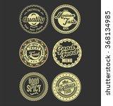 mexican design retro vintage...   Shutterstock .eps vector #368134985