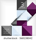 vector squares abstract... | Shutterstock .eps vector #368138042