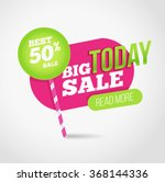 Big Sale Promotion Banner With...