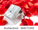 red rose and gift box | Shutterstock . vector #368171342