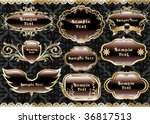 vintage frame 84   Shutterstock .eps vector #36817513