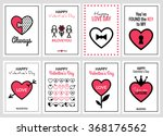 happy valentines day or wedding ... | Shutterstock .eps vector #368176562