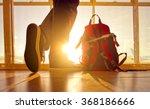 traveler stands near the... | Shutterstock . vector #368186666