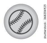 baseball ball icon