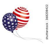 balloons america usa stars...   Shutterstock .eps vector #368208422