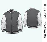 varsity jacket template front... | Shutterstock .eps vector #368225828