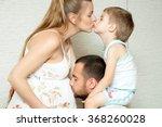 happy family  | Shutterstock . vector #368260028