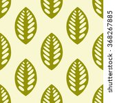 seamless floral pattern. vector ... | Shutterstock .eps vector #368267885