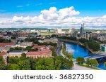 Vilnius Panorama From Gedimina...