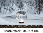 Winter Scene With A Transparen...