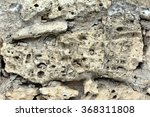 The Texture Of The Stone Wall....