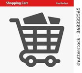 shopping cart icon.... | Shutterstock .eps vector #368332565