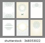 banners set of templates in... | Shutterstock . vector #368353022