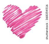 vector marker heart | Shutterstock .eps vector #368354516
