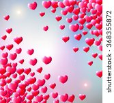 valentines day background with...   Shutterstock .eps vector #368355872