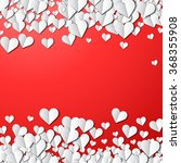valentines day card with... | Shutterstock .eps vector #368355908