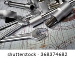 drawings and tools  selective... | Shutterstock . vector #368374682