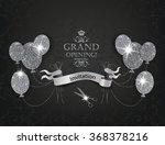 elegant vip invitation cards... | Shutterstock .eps vector #368378216