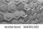 3d background platte made of... | Shutterstock . vector #368381282