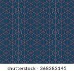 seamless dark blue and burgundy ... | Shutterstock . vector #368383145