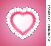 love background. heart... | Shutterstock .eps vector #368385026